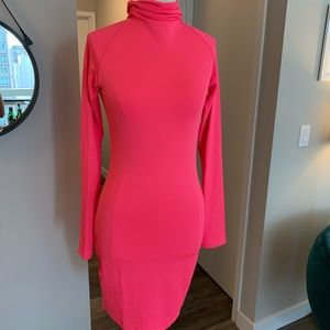 Long sleeve, turtle neck dress
